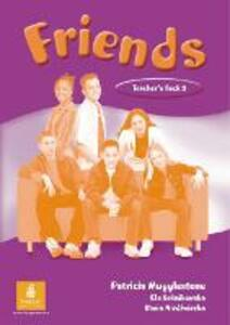 Friends 3 (Global) Teacher's Book - Liz Kilbey - cover