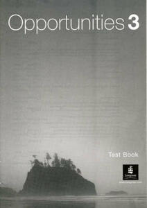 Opportunities 3 (Arab World) Test Book - cover