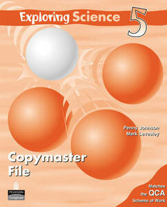 Exploring Science Copymasters 5 - Penny Johnson,Mark Levesley - cover