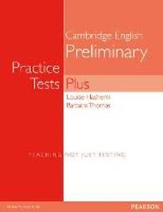 PET Practice Tests Plus No Key New Edition - Louise Hashemi,Barbara Thomas - cover