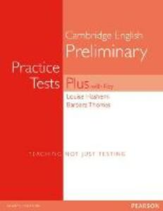 PET Practice Tests Plus with Key New Edition - Louise Hashemi,Barbara Thomas - cover