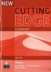 New Cutting Edge Elementary Workbook with Key - Sarah Cunningham,Peter Moor,Frances Eales - cover