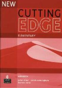 New Cutting Edge Elementary Workbook No Key - Sarah Cunningham,Peter Moor,Frances Eales - cover