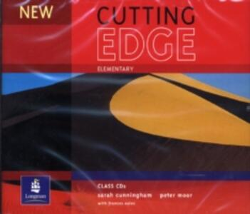 New Cutting Edge Elementary Class 1-3 CD - cover