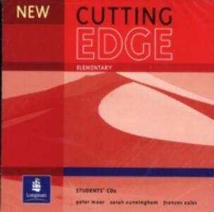New Cutting Edge Elementary Student CD 1-2 - Sarah Cunningham,Peter Moor,Frances Eales - cover