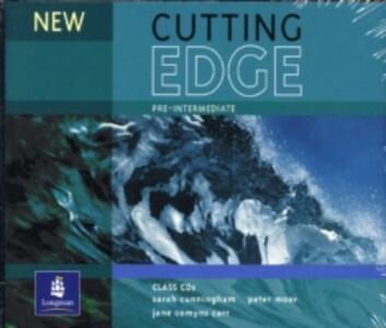 New Cutting Edge Pre-Intermediate Class CD 1-3 - Sarah Cunningham,Peter Moor - cover