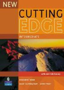 New Cutting Edge Intermediate Students' Book - Sarah Cunningham,Peter Moor - cover