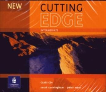 New Cutting Edge Intermediate Class CD 1-3 - Sarah Cunningham,Peter Moor - cover