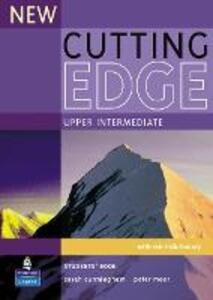 New Cutting Edge Upper-Intermediate Student's Book - Sarah Cunningham,Peter Moor - cover