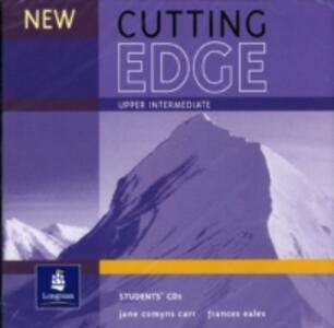 New Cutting Edge Upper-Intermediate Student CD 1-2 - Sarah Cunningham,Jane Comyns-Carr,Peter Moor - cover