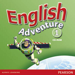 English Adventure Level 1 Video - Anne Worrall - cover