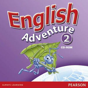 English Adventure Level 2 Multi-ROM - Anne Worrall - cover