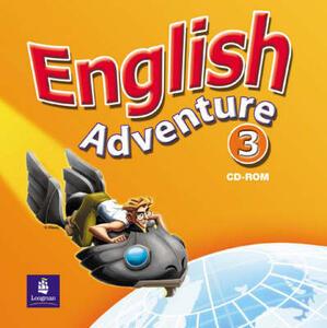 English Adventure Level 3 Video - Izabella Hearn - cover
