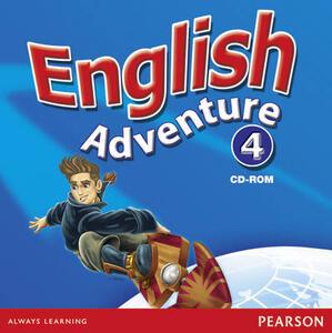 English Adventure Level 4 Video - Izabella Hearn - cover