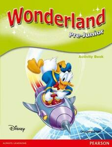 Wonderland Pre-Junior Activity Book - Cristiana Bruni - cover