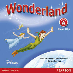 Wonderland Junior A Class CD - Cristiana Bruni,Sandy Zervas,Anne Worrall - cover