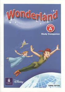 Wonderland Junior A Companion - Sandy Zervas - cover