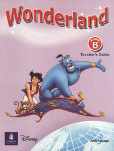 Wonderland Junior B Teachers Book - Judy Copage - cover