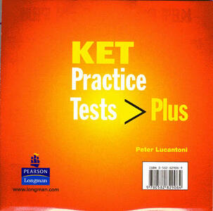 KET Practice Tests Plus Audio CD for the Revised Edition (2) - Peter Lucantoni - cover