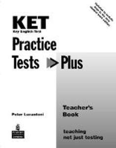 KET Practice Tests Plus Teacher's Book New Edition - Peter Lucantoni - cover
