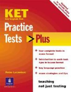 KET Practice Tests Plus Students' Book New Edition - Peter Lucantoni - cover