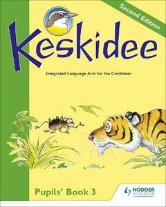 Keskidee Pupils' Book 3 Second Edition - Anne Worrall,A Ward - cover