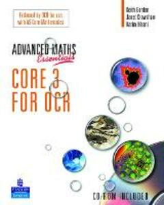 A Level Maths Essentials Core 3 for OCR Book and CD-ROM - Janet Crawshaw,Kathryn Scott - cover