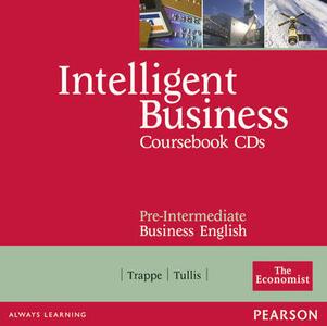 Intelligent Business Pre-Intermediate Course Book CD 1-2 - Christine Johnson - cover