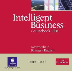 Intelligent Business Intermediate Course Book CD 1-2 - Tonya Trappe,Graham Tullis - cover