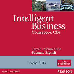 Intelligent Business Upper Intermediate Course Book CD 1-2 - Tonya Trappe,Graham Tullis - cover