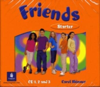 Friends Starter (Global) Class CD3 - Liz Kilbey - cover