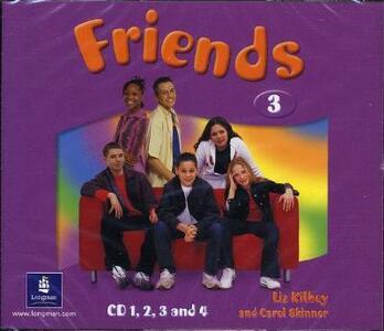 Friends 3 (Global) Class CD4 - Liz Kilbey - cover