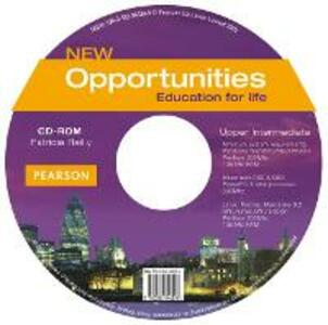 Opportunities Global Upper-Intermediate CD-ROM New Edition - Patricia Reilly - cover