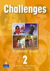 Challenges Student Book 2 Global - David Mower,Michael Harris,Anna Sikorzynska - cover