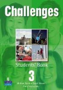 Challenges Student Book 3 Global - David Mower,Michael Harris - cover