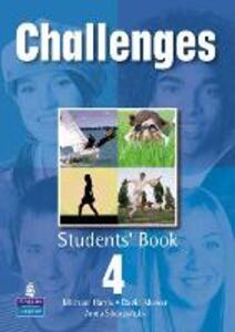 Challenges Student Book 4 Global - Michael Harris,David Mower,Anna Sikorzynska - cover