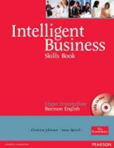 Intelligent Business Upper Intermediate Skills Book and CD-ROM pack - Christine Johnson,Irene Barrall - cover