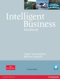 Intelligent Business Upper Intermediate Workbook and CD pack - Louise Pile - cover