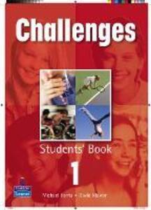 Challenges Student Book 1 Global - David Mower,Michael Harris - cover