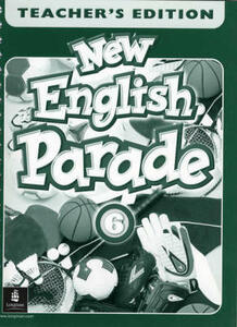 New English Parade Saudi Teacher's Book 6 - Salazar,Mario Herrera,Theresa Zanatta - cover