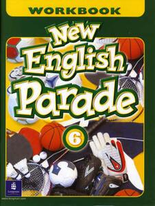 New English Parade Saudi Workbook 6 - Salazar,Mario Herrera,Theresa Zanatta - cover