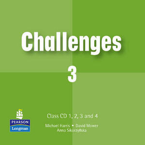 Challenges Class CD 3 1-4 - Michael Harris,David Mower,Anna Sikorzynska - cover