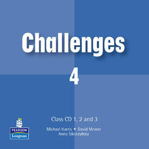 Challenges Class CD 4 1-4 - Michael Harris,David Mower,Anna Sikorzynska - cover