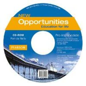 Opportunities Global Pre-Intermediate CD-ROM New Edition - Patricia Reilly - cover