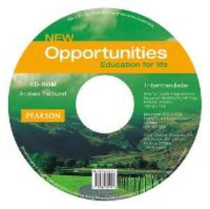 Opportunities Global Intermediate CD-ROM New edition - Andrew Fairhurst - cover