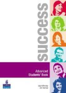 Success Advanced Students' Book - Stuart McKinlay,Bob Hastings - cover