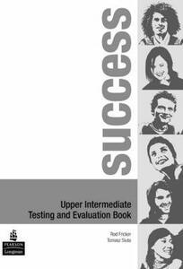 Success Upper Intermediate Test Book - Rod Fricker - cover
