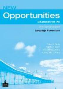 Opportunities Global Pre-Intermediate Language Powerbook NE - Patricia Reilly - cover