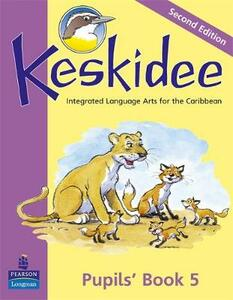 Keskidee Pupils' Book 5 Second Edition - Ann Ward,Anne Worrall - cover