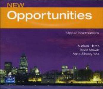Opportunities Global Upper-Intermediate Class CD New Edition - Michael Harris,David Mower,Anna Sikorzynska - cover